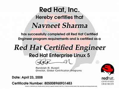 red hat linux training & certification in chandigarh