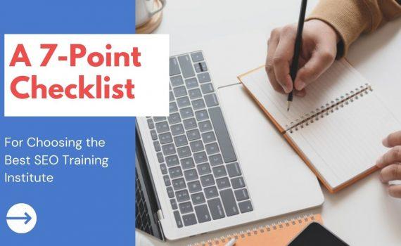 Choosing the Best SEO Training Institute